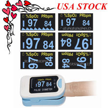 207 CONTEC HOT US seller Finger Tip Pulse Oximeter Blood Oxygen SpO2 Monitor CE CMS50N(China)