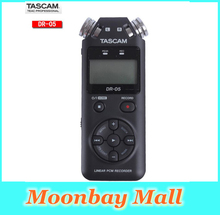 2016 Original Tascam dr-05 Handheld Professional Portable Digital Voice Recorder MP3 Recording Pen Version 2 with 4GB micro SD