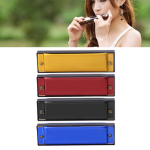 Harmonica 10 Hole Gaita C Harmonica Kids Newborn Beginner Music Education Birthday Gift Harmonious Organ Mouth(China)