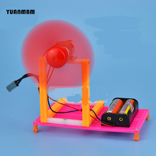 Temperature control fan/scientific physics experimental Educational toys/DIY technology production/puzzle/baby toys for children