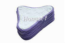 Generic Free Shipping New Washable Steam Mop Microfibre pads Fits Steam Mop X5 Model (Pack of 12)