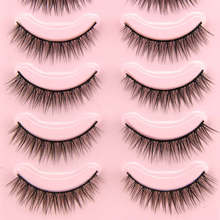 5Paris Fashion Party Eyelashes Natural Long Thick Handmade Eye Lash Extension Makeup Shellhard
