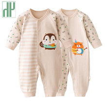 HH brands Baby clothes long-sleeve newborn Baby Girl Clothes 6 9 12 18 Months Cute cotton Infant Jumpsuit baby boy Clothing