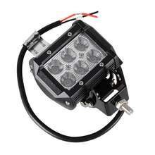 4Inch 18W With CREEs LED Chips Light Bar Flood 12V 24V IP67 For ATV SUV 4WD 4X4 Truck Tractor Trailer Work Light
