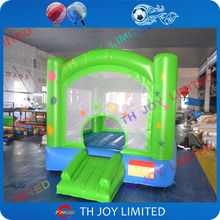 good quality 0.55mm pvc tarpaulin 2.5x2.5x2m height inflatable baby bouncer,inflatable jumping bouncer, inflatable bounce house