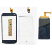 4.5 Inch Phone Touchscreen Digitizer For ZTE Blade Q Lux 3 G Touch Screen Q Lux 3G 4G Touch LCD Sensor Glass Front Panel(China)