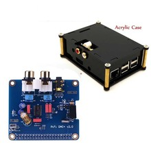 3 Audio-Sound-Card-Module HIFI Raspberry Pi Expansion-Board Acrylic-Case DAC for 2/3-Model