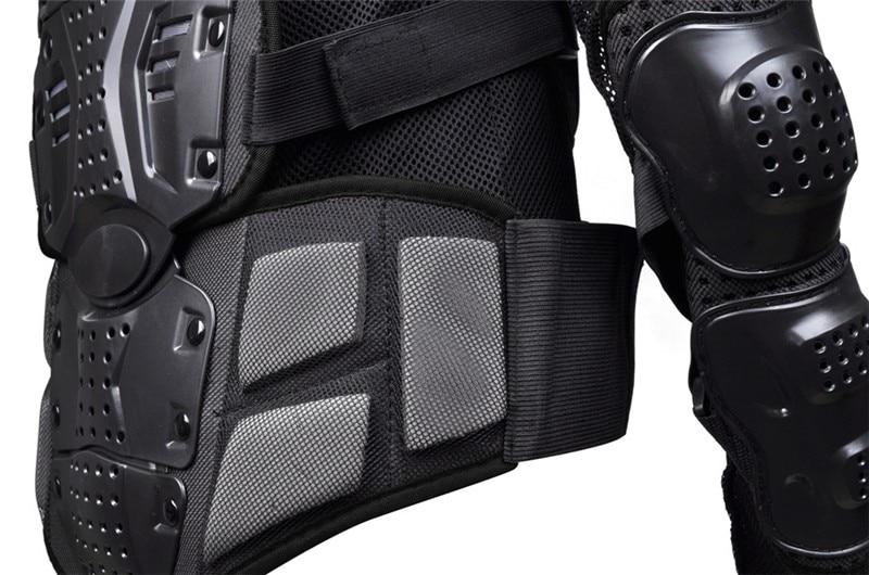 Jacken Bozxrx Motorrad Volle Rüstung Motocross Jacke Wirbelsäule Brust Schutz Getriebe Motocross Motos Protector Moto Motorrad Jacke Seien Sie Im Design Neu Schutzausrüstung