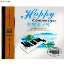 BINYEAE- new CD seal: pure music album happy keyboard music Yueqing light music car 3CD disc [free shipping](China)