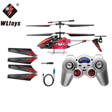 Wltoys S929 Infrared Ray RTF RC 3.5 Channel Remote Control Helicopter With Gyroscope And Colourful Light USB Plane Outdoor Toy(China)