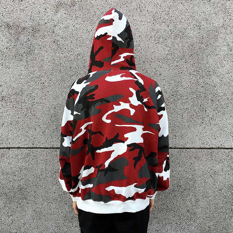 Camouflage Pullover Hoodies 3