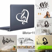 Vinyl MUSIC Musical NOTES Variety Pack Wall Decor Decal Sticker On Wall Decal Sticker Home Decor Art Mural Kids Room Home Decor