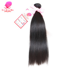 QUEEN BEAUTY HAIR Indian Remy Hair Straight Hair Bundles Natural Color Human Hair Weave 8inch To 30inch Free Shipping
