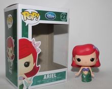 Funko Pop Movie Little Mermaid Princess Ariel PVC Anime Movie Vinyl Cute Action Figure Collection Kid's Gifts Toys Model Doll
