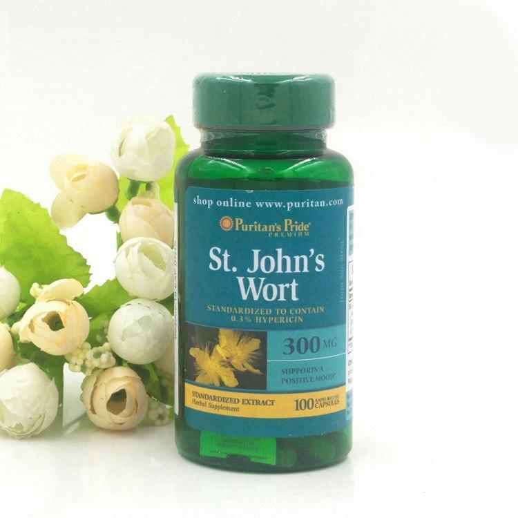 St.Johns Wort 300 mg 100 pcs Free shipping<br>