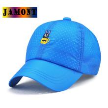 JAMONT Brand New 2017 Summer Kids Baseball Cap Small Little Cat Kitty Embroidery Cute Colorful Children Snapback Caps Gorras(China)