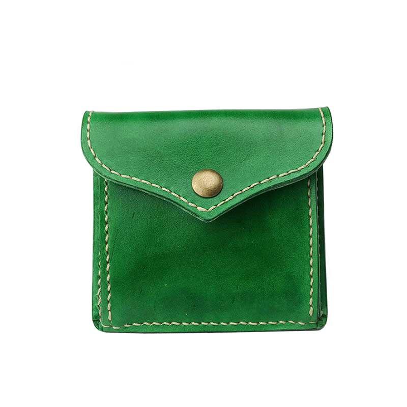Genuine Leather FBK 100% Handmade Original Brand Design Large Capacity Small Women Purse Fashion Coin Purse Wallet Card Holder<br>