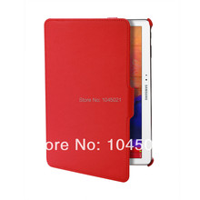 Wholesale 2016 hot sale retailing Cheap Price for Samsung Galaxy Tab Pro 10.1 tablet solid red color cover with high quality