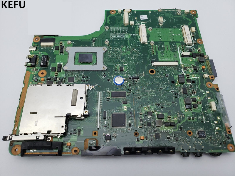 KEFU Motherboard For Toshiba A200 System Main Board V000108660 Working Tested