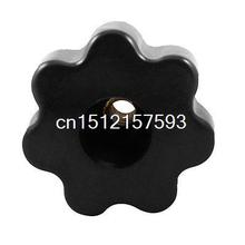 "M8 Diameter Thread 1.97"" Star Head Clamping Knob Grip Handle"