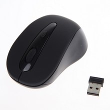 High Quality 2.4G Wireless Optical Mouse/Mice Blue + Mini USB Receiver for PC Laptop/Notebook Silver Red Black 3 Colors
