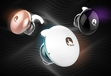 Mini touch Bluetooth headset 4.1 Mini Bluetooth stereo headset ear hanging type voice response universal