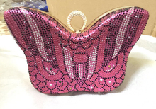 Women's Crystal Evening Bag Retro Beaded Clutch Bags New Arrival Pink Wedding Diamond Beaded Bag Rhinestone Small Shoulder Bags