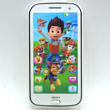 Kids Toy Phone Educational Story English Language Learning Machine Toy Cellphone(China)