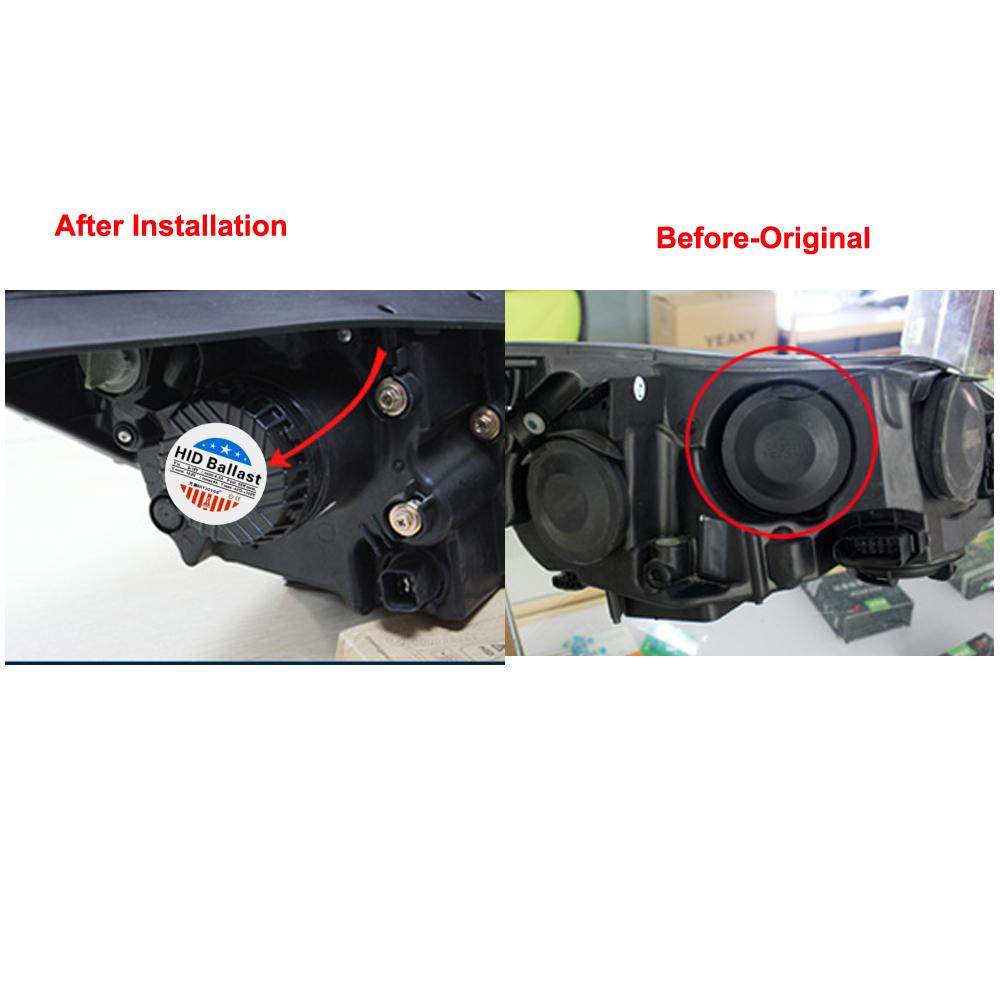 55W 9012 hid xenon kit envision headlight 9012 bi-xenon kit 4300K 5000K 6000K HIR2 9012 dual xenon projector bulb 9012 high low (11)