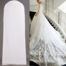 JDAERK New Biggest Cheap Wedding Dress Bags Clothes Cover Dust Cover Garment Bags Bridal Gown Bag Organizer(China)