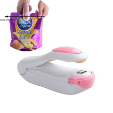 Portable Hand Pressure Mini Sealing Machine Heat Sealer Capper Food Saver Storage for Plastic Bags Package(China)