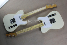 Free Shipping Factory Custom Shop new High Quality 100% Vintage 52 telecaster Reissue Creamy white tl electric guitar 1110(China)
