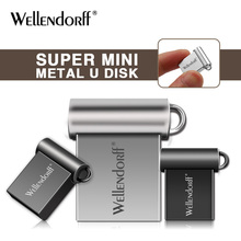 metal mini Pendrive 4GB 8GB 16GB 32GB 64GB Flash Memory Stick Usb Flash Drive Usb 2.0 Pen Drive New Arrival(China)