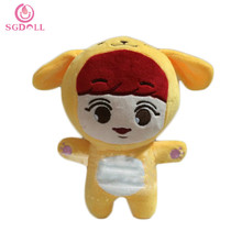 "Korean KPOP Super Stars EXO ParkChanYeol 21cm/8"" Plush Toys Stuffed Doll Fanmade Goods Gift Collection 16080407"