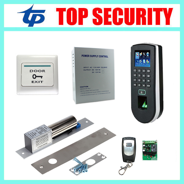 ZK F19 fingerprint recognition door access control system TCP/IP linux system biometric fingerprint access controller reader kit<br><br>Aliexpress