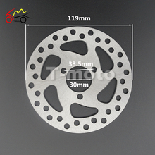 Brake Disc Rotor for 47cc 49cc Pocket Mini ATV Dirt Bike Chopper Scooter(China)