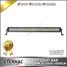 Free shipping 4pcs-180W led light bar high power driving headlight for off road ATV UTV 4x4 Wrangler pick up truck equipment