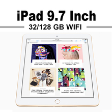 Apple iPad 9.7 inch Mini 4 10.5 inch Pro Tablets WiFi 32G/128G Retina Display 64bit A9/A10X Chip HD Camera Touch ID Portable(China)