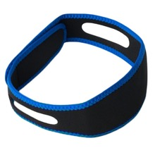 New Arrival Hot Sale Fancy Woman Man Care Sleeping Tools Blue Belt Anti-snoring Sleep Apnea Chin Support StrapDrop Shipping(China)