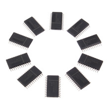 10PCS A Set MAX7219EWG SOP24 MAX7219 SOP SMD LED Display Driver Active Components Integrated Circuits(China)
