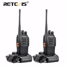 2pcs Retevis H777 Portable Walkie Talkie 16CH UHF 400-470MHz Ham Radio Hf Transceiver 2 Way cb Radio Communicator Walkie-Talkies(China)