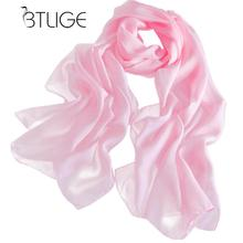 BTLIGE Sexy Womens Girls Chiffon Scarves Solid Shawl Scraf Autumn Winter Top Riding Wrap Hijabs Summer Solid Silk Scarf(China)