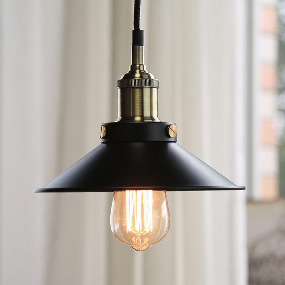 Edison Bulb Vintage Industrial hanging Lighting Lamp with E27 Holder Pendant Light  Lights Lamp Light Fixtures size Dia22cm<br><br>Aliexpress