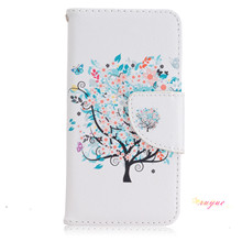 2016 Selling  Art Print Fashion For iPhone 5& 5S Cases Wallet Flip Cover PU Leather Card Slot + Photo Frame Cover Bag Stand Capa