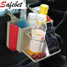 New Listing Home Cars Foldable Storage Box Car Seat Back Suspension Organizer Bottle Tissue Box Magazine Cup Food Phone Holder