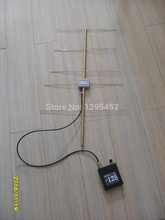 DW-400 Field strength meter Radio detectors + 433MHz Band 5 Unit Yagi Antenna DW-433 Full set Receiver