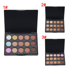 2016 New Professional 15 Color Concealer Palette Make Up Cream Camouflage Foundation Cosmetic Palettes