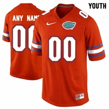 Nike Youth Florida Gators Customized College Jersey Ice Hockey Jerseys - Blue white Orange szie S,M,L,XL(China)