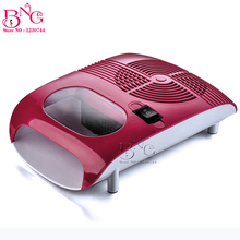 BnG  Hot & Cold Air Nail Dryer Blower Manicure Beauty Red Color 220V EU 110V US Plug Tool Fan