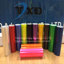 30CMX100CM/LOT Free shipping glossy headlight film with good quality 3 Layers Glossy headlight foil head light protection film